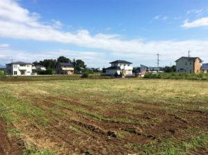 現場の草刈り